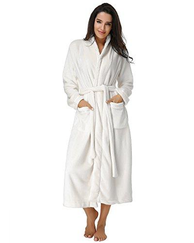 Télécharger EPUB Auxo Women Winter Spa Towelling Terry Wrap Dressing ...