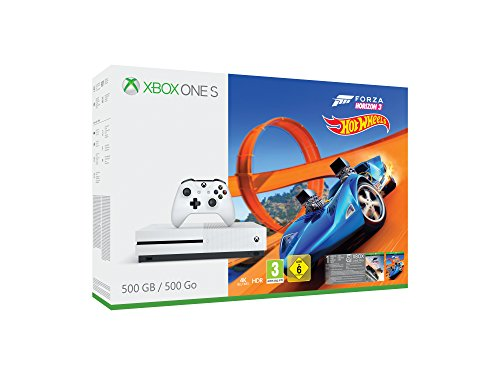 Xbox One S 500GB Konsole + Forza Horizon 3 + Hot Wheels Bundle