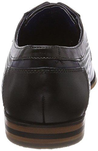 Bugatti 311252041000, Derbys Homme Noir (Schwarz)