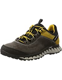 Mens Climatica Suede GTX Outdoor Fitness Shoes, Grau (Antracite/Yellow) Aku