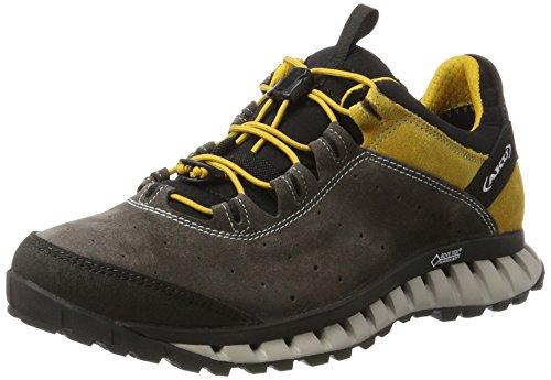 AKU Herren CLIMATICA Suede GTX Outdoor Fitnessschuhe, Grau (Antracite/Yellow), 42.5 EU