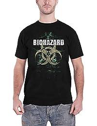 Biohazard T Shirt We Share The Knife Band Logo Nue Offiziell Herren