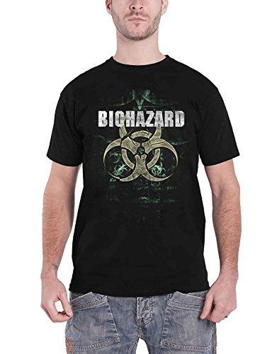 Biohazard T Shirt We Share The Knife Band Logo Nue offiziell Herren -