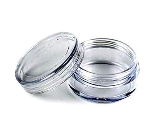10Gramm/10ml leer Kunststoff Kosmetik Samples Container eyshadow Behälter Viel Topf Gefäßen für Make Up Lippenbalsam Cremes Lotionen Salben Nail Zubehör und andere Beauty Produkte