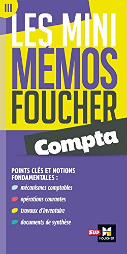 Les mini memos Foucher - Compta
