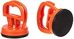 ACENIX® [ Twin Pack ] 2 Pcs LCD Screen Opening Heavy Duty Dent Remover Sucker Puller Suction Cup For iMac iPhone iPad iPod Samsung, Samsung Tab [ iNcluded Cleaning Cloth ]