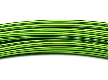 The Wire Man – Fil Bre aluminium vert pomme 2 mm-12 m-100gr