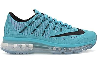 sports shoes 79eeb 5bd7f ... Nike Women s Air Max 2016 Gamma Blue Black Pink Blast White Running  Shoe 6. 5 Women