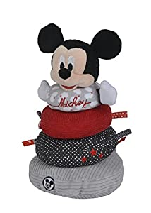 Disney-Anillo a apilar de Peluche Mickey Nube, 5872479
