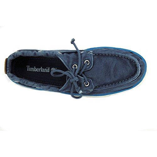 Timberland Hookset Handcrafted Red Ochre, Chaussures de Voile Homme bleu