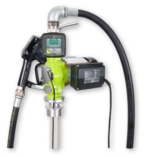 Elektropumpe TecPump 600AC 55l/min 230V im Set mit digitalem Zählwerk FMT 3 - Dieselpumpe