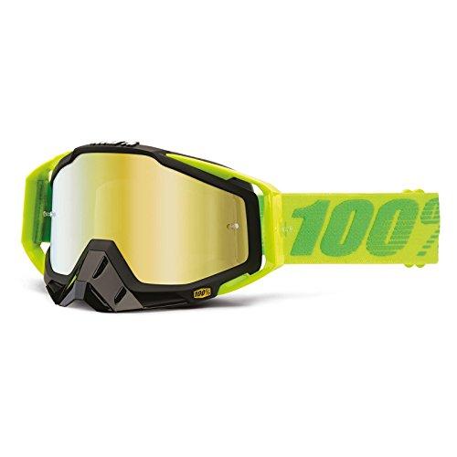 Mx Goggle 100 Percent Racecraft-Noseguard-Anti Fog-Extra Clear Lens-Tear Offs So