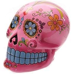 PUCKATOR Grande Candy día de los Muertos de cerámica