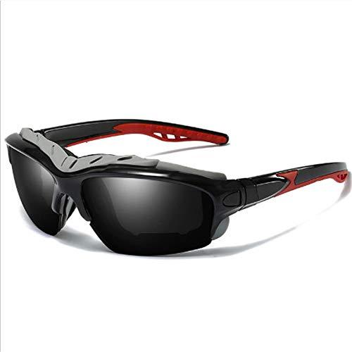 Radfahren Polarisierende Sonnenbrille Anti-Uv Polarisierende Schutzbrille 139 X 68 X 49 Mm Schwarzer Rahmen Graue Flocken