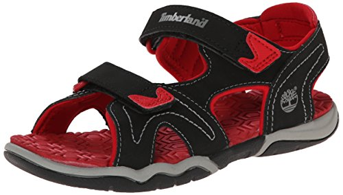 Timberland Active FTK_Adventure Seeker 2 Unisex-Kinder Sneakers, Schwarz (Black With Red), 30 EU