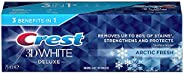 Crest 3D White Deluxe Healthy Shine Whitening Toothpaste 75ml