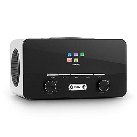 auna Connect 150 Radio internet 2.1 avec WiFi et lecteur