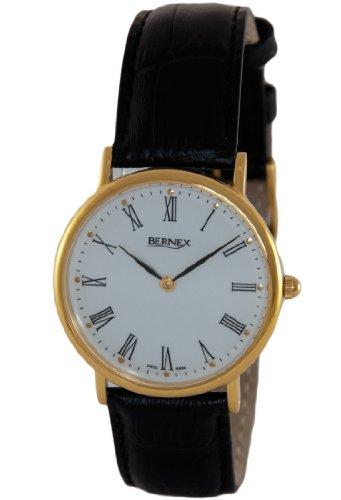 Bernex - Reloj de pulsera hombre, piel