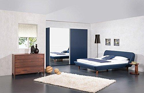 Polsterbett Melissa - schlichtes Polsterbett, Größe:180x210cm