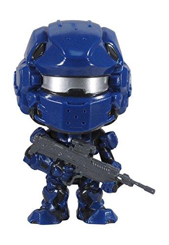 (Halo 4 POP! Spartan Warrior 10cm Vinyl ´Deformed´ Figur (zufällig sortiert - Blue oder Red))