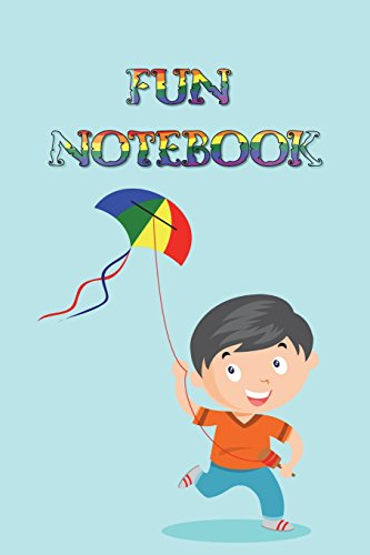 Fun Notebook: Boys Books - Mini Composition Notebook - Ages 6 -12  - Kite Flying por Simple Planners and Journals