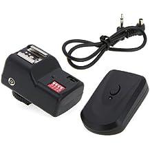 Andoer 16 canales de radio inalámbrico remoto Speedlite flash de disparador universal para Canon Nikon Pentax Olympus PT- 16GY