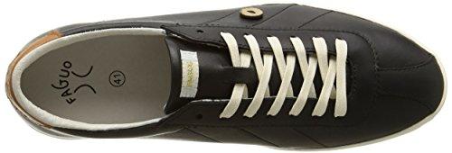 Faguo Herren Spindle Sneaker Schwarz - Noir (003 Black)
