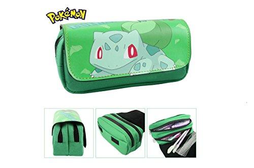 Estuche-Escolar-dos-compartimentos-Bulbasaur-Pokemon-Go