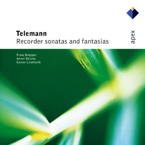 Telemann : Recorder Sonata in C major TWV41, C5 : I Adagio - Allegro