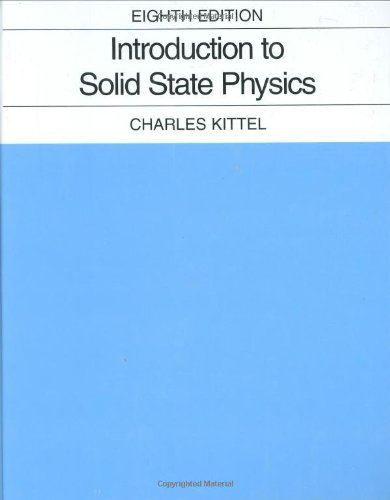 Introduction to Solid State Physics