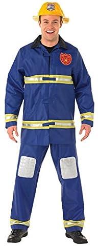 Rubie's Official Fireman Fancy Dress - Medium