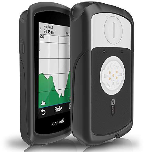 TUSITA Hülle für Garmin Edge 1030 - Silikon Schutzhülle Skin - GPS Bike Computer Zubehör