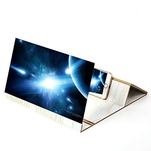 GH&YY 12 inch Display Vergrößerungsglas für Handy, Verstärker des Bildschirms des...