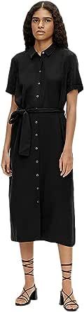 Object NOS Objtilda Isabella S/S Dress Noos Vestito Donna