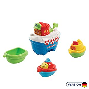VTech Baby 500304 - Tut Baby Bath World - Guides Boot with Friends