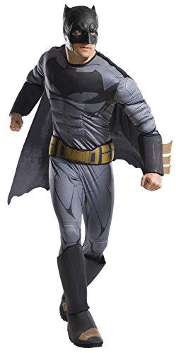 DC - Justice League Movie Kostüm Batman Deluxe Erwachsene, Einheitsgröße (Rubies Spain ()