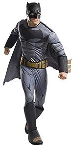 DC Comics - Disfraz de Batman Deluxe para hombre, Talla única adulto (Rubie