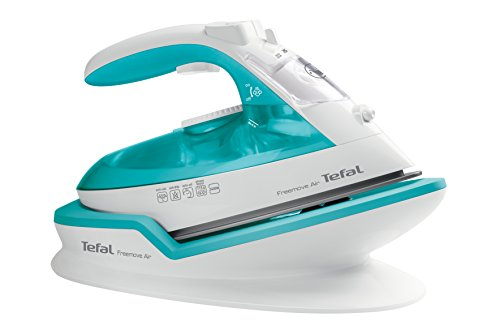 Tefal FV6520G0 Freemove Air Cordless Steam Iron, 2400 W, Blue Best Price and Cheapest