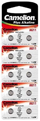 Alkaline Knopfzelle CAMELION AG11/LR58/LR721/362