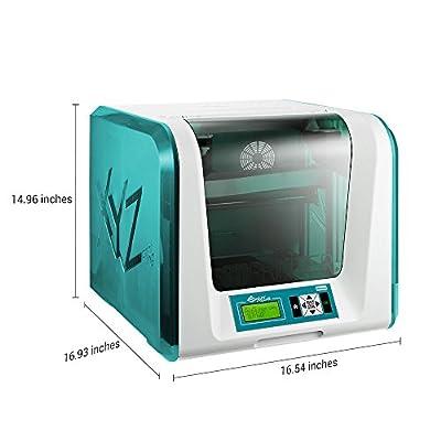 XYZ Printing da Vinci Jr. 1.0 w 3D-Drucker (vollständig montiert), Drahtlos, 15x15x15 cm Druckgröße, Automatisch zugeführtes Filament
