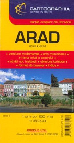 Arad (Romanian City Map)
