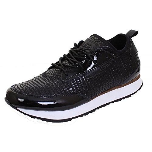 Woden Sneakers Brevetto Womens Sara 020 Black