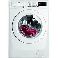 AEG L68470FL Waschmaschine Frontlader/Energieklasse A+++ (171,0 kWh/Jahr)/leiser Waschautomat mit Programmautomatik und Timer/Waschmaschine mit 7 kg XXL-Trommel und Türöffnung/weiß
