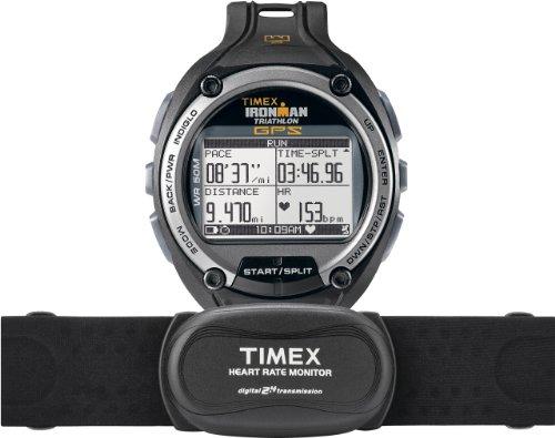 Timex Herren-Armbanduhr XL Ironman Global Trainer Digital Kautschuk T5K444 (Trainer Timex Ironman)