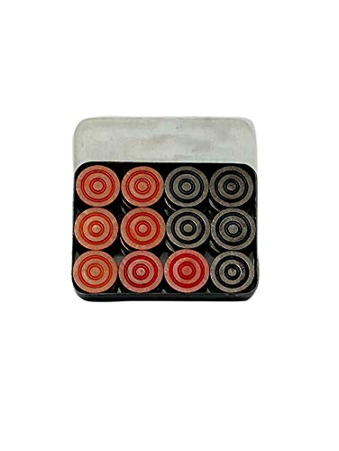 V - Max Enterprises ((((( French Branded ))))) 24 pc Wooden Carrom Coins