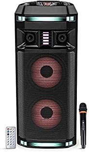 Impex - Portable Outdoor Speaker System - Mic & Remote Control (
