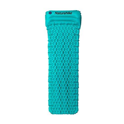Sommerausflüge Picknickmatte Ultralight Camping Sleeping Pads für Backpacking-Camping Air Pads mit eingebautem Kissen-für Wandern, Scout, Hängematte, Zelt, Kinderbett Geeignet für Strände Picknick i -