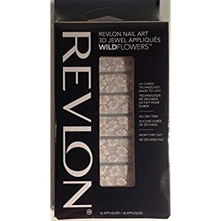 NEW Revlon Nail Art 3D Jewel Appliques Wildflowers - 01 About a Pearl by Revlon