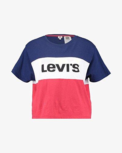 Levi's T-Shirt 576500000 Tricolor Oversize Corta