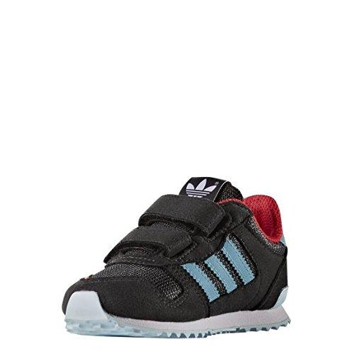 adidas Unisex Baby ZX 700 CF I Sneaker, Black (Neguti/Azuvap/Ftwbla), 22 EU